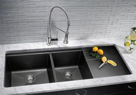 Granite Composite Kitchen Sinks Kitchen Sinks Granite Composite Offers Superior Durability