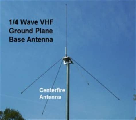 vhf special purpose centerfire antenna llc