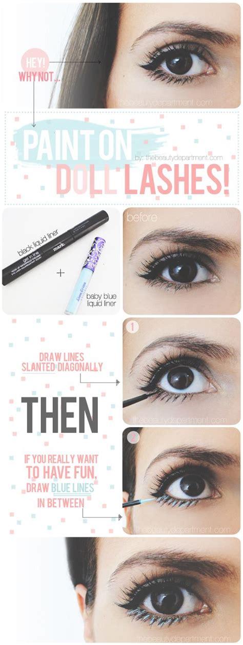 eyeliner tutorial bottom only best 25 ideas about bottom eyelashes on pinterest