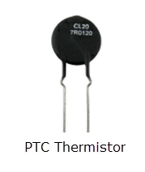 ptc of thermistor what is a thermistor