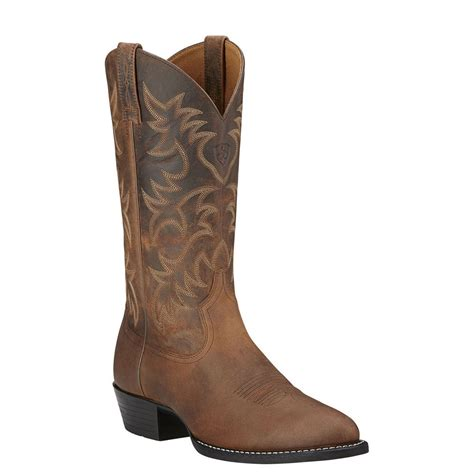 ariat heritage boots ariat heritage western r toe s boot ebay