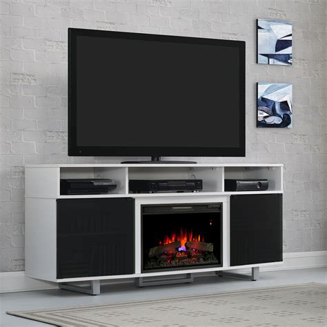 enterprise lite electric fireplace entertainment center in