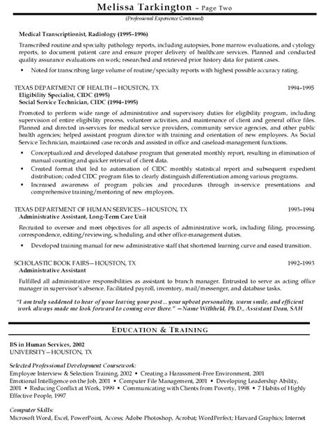 Health Resume Exles by Computer Technician Computer Technician Sle Resume Skills