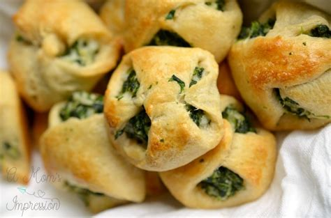 appetizers crescent roll spinach crescent roll appetizers kid friendly food