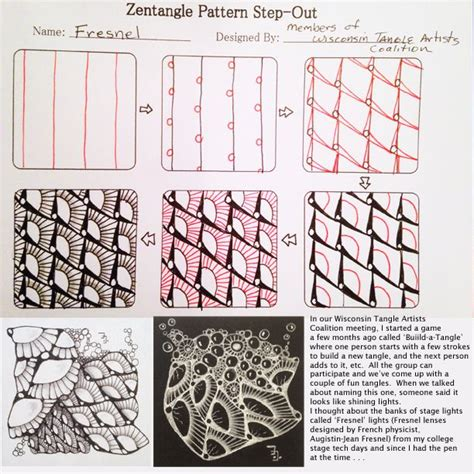 zentangle pattern groovy 17 best images about zentangle tangles on pinterest