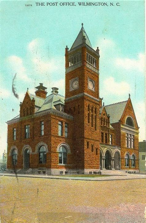 Wilmington Post Office Hours by Philatelic History Of Wilmington Nc