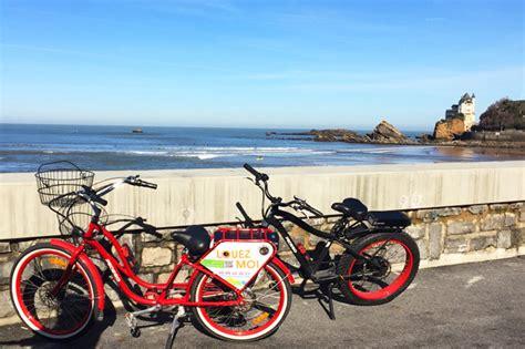 Pedego Biarritz : Location de vélos électriques Beach Cruiser