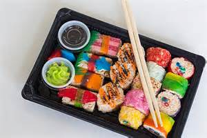 Sushi Favors by Large Sushi Tray Made Fresh To Order Event Favors Or