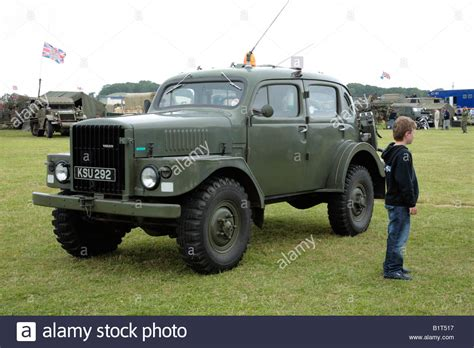 volvo  military vehicle stock photo  alamy