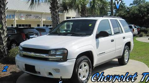 chevrolet trailblazer white trailblazer 2002 chevrolet trailblazer white 4 2l vortec