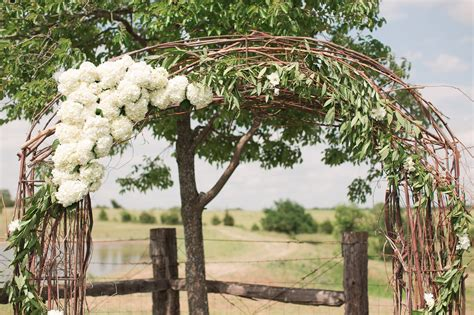 Barn Home Decor wedding arch flowers hydrangea rustic grace estate