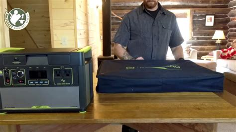lithium and solar panels goal zero yeti 1400 lithium and solar panel review