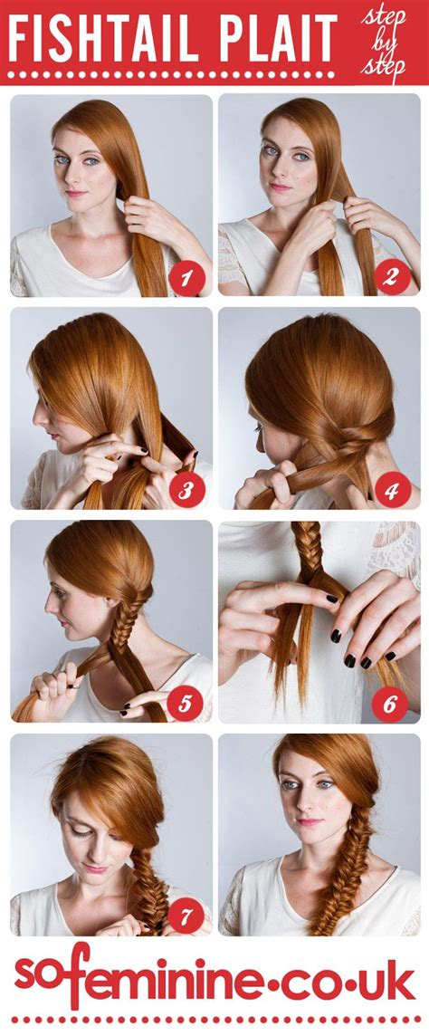 how to do a fishtail plait step by step fishtail braid