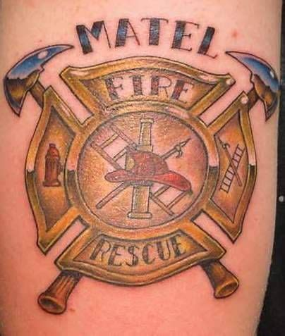 fire truck tattoos designs 28 best tattoos images on ems