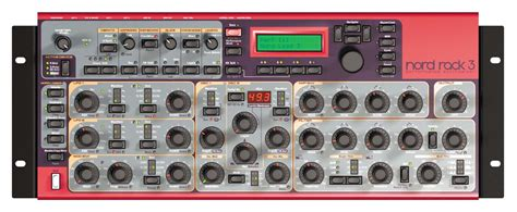 Nord Rack 3 by Nord Lead 3 Rack