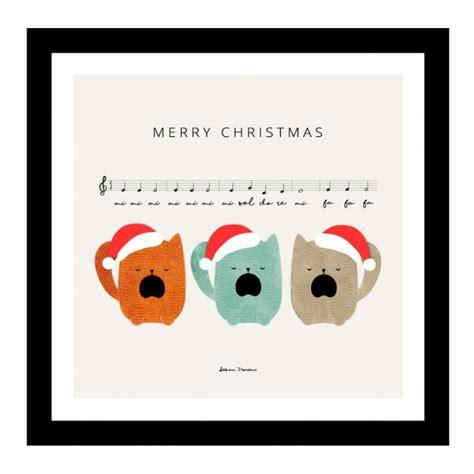 merry christmas cute song vector
