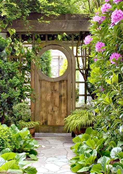 backyard gate lilac lane cottage the garden gate