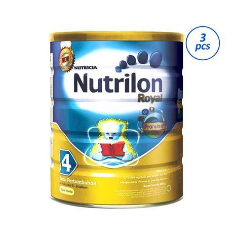 Formula Nutrilon Royal 1 Jual Nutricia Nutrilon Royal Pronutra 4 Vanila