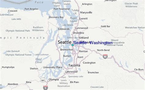 Tide Tables Seattle by Seattle Washington Tide Station Location Guide