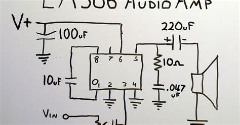 electronics fusions  cost audio amplifier  lm