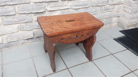 step benches antique wooden step stool bench secondhand pursuit