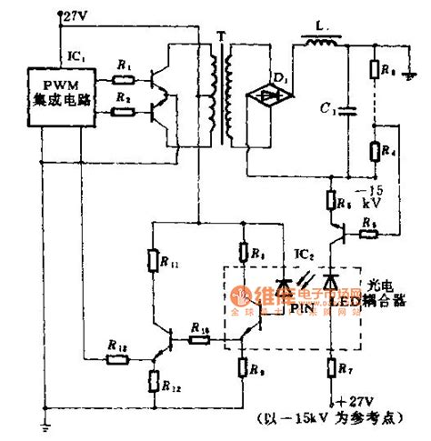 optocoupler high voltage transistor high voltage speed optocoupler and application circuit diagram electrical equipment circuit