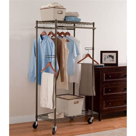 How To Make Garment Rack by Better Homes And Gardens Hanging Garment Rack Bronze Walmart