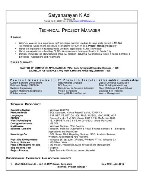 adi cv tech manager