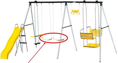 play safe swing set barbara s beat injuries lead to swing sets recall sold
