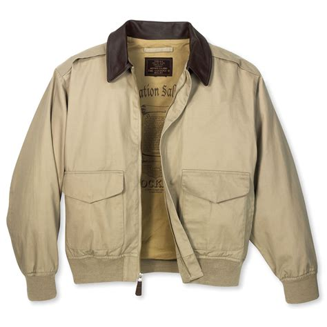 Jacket Bomber 2 the classic cotton a 2 bomber jacket hammacher schlemmer