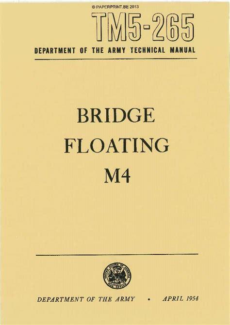 Tm 5 265 Us Bridge Floating M4 Gmc Bolster Truck