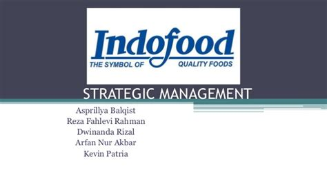 email indofood strategic management assignment pt indofood
