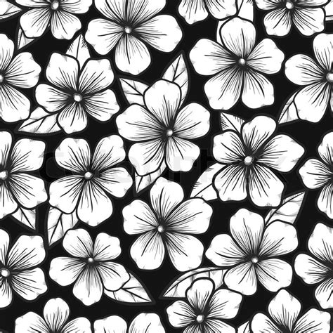 beautiful black and white seamless background with graphic