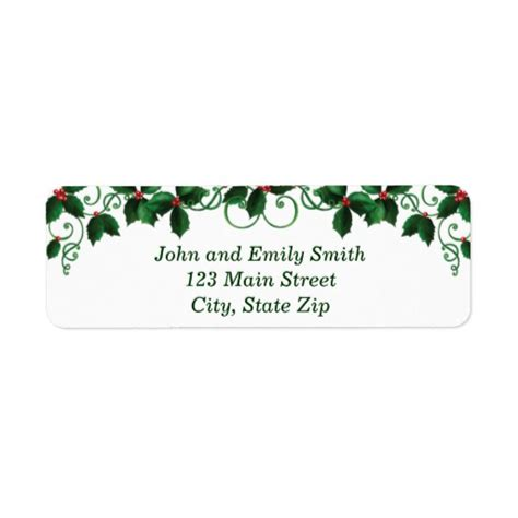templates for return address labels christmas search results for christmas return address labels
