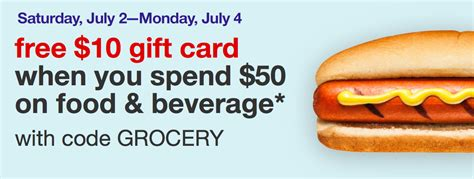 Target 10 Gift Card When You Spend 50 - get 10 gift card when you spend 50 in grocery all things target
