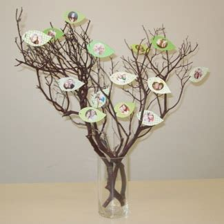 Tag Res Murales 668 by Family Tree Craft Project Family Tree Centerpiece Idea