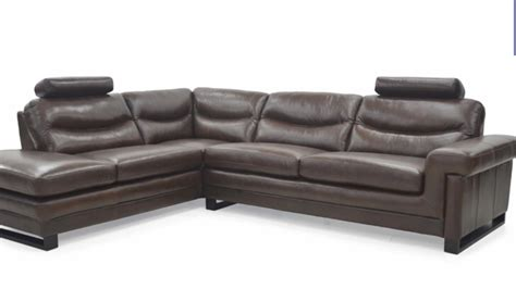 Mizzoni Italia High Quality Leather Corner Sofa With