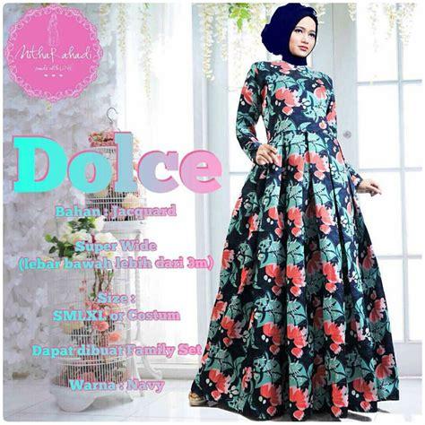Baju Muslim Baju Murah Dress Murah Drappery Wide Dress gamis jacguard murah outlet nurhasanah outlet baju pesta keluarga muslim