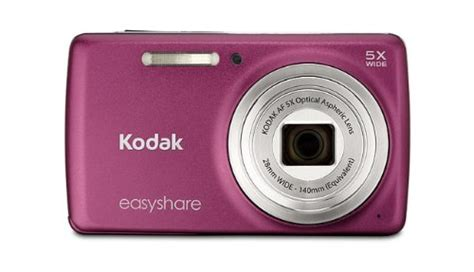 Pink Leather Digital By Kodak by Kodak Easyshare M552 14 Mp Digital With 5x Optical