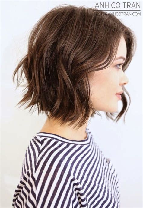 14 medium length textured crop 21 textured choppy bob hairstyles short shoulder length