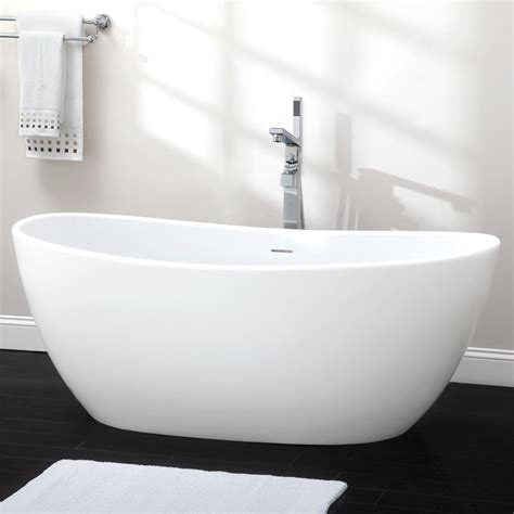 pictures of a bathtub 65 quot lacota resin freestanding tub bathtubs bathroom