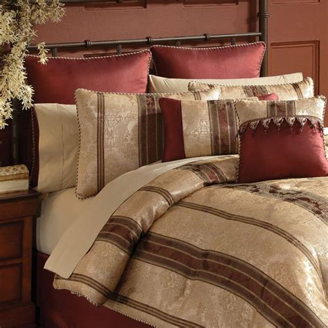 red gold bedroom for the home pinterest chapel hill by croscill marquis comforter sets linen
