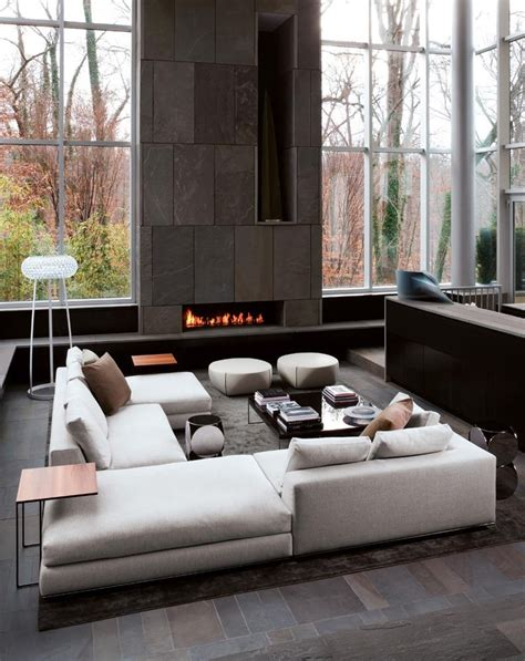 Living Room Furniture Pinterest Minotti Inspiration Colorado Style Studio Como Modern Furniture And Custom Cabinetry