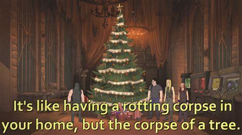 christmas my gifs metalocalypse nathan explosion skwisgaar