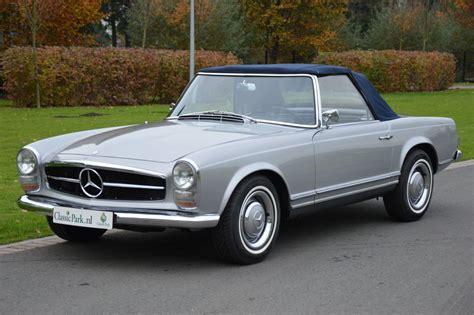mercedes sl 230 classic park cars mercedes 230 sl pagode