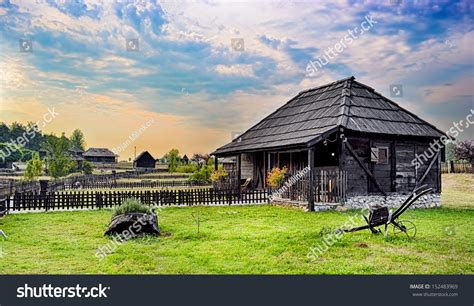 ethno house music beautiful ethno house at sunset stock photo 152483969 shutterstock