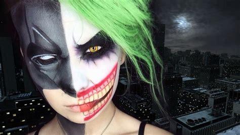 tutorial makeup halloween 2015 halloween makeup tutorials 2015 batman vs joker youtube