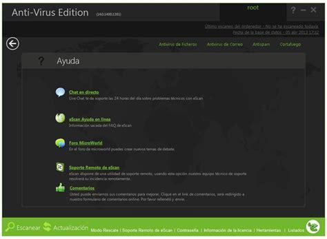 Anti Virus Escan descargar escan anti virus 14 0 gratis en espa 241 ol