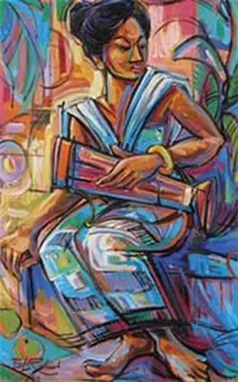 Lukisan Kucing Popo Iskandar berbagi bersama doddi september 2013