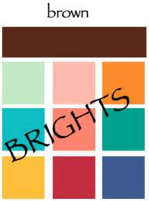 what color goes with brown a color specialist in colors for earth day